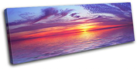 Stunning Sunset Seascape - 13-0876(00B)-SG31-LO